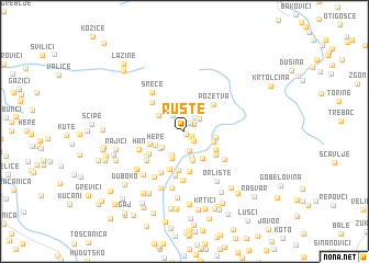 map of Ruste