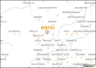 map of Rustici
