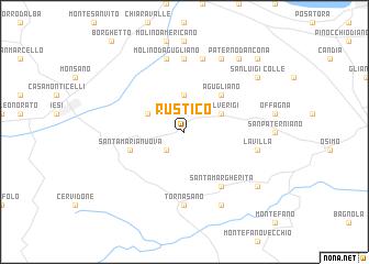 map of Rustico