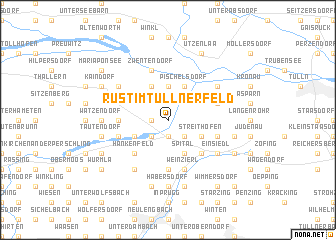 map of Rust im Tullnerfeld
