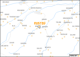 map of Rustov