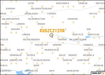 map of Ruszczyzna