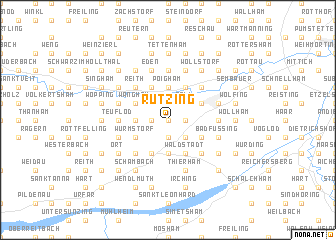 map of Rutzing