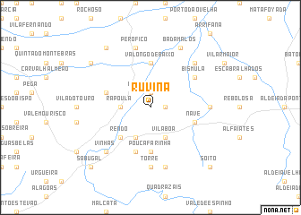 map of Ruvina