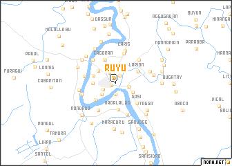 map of Ruyu