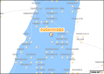 map of Rwahinkaba