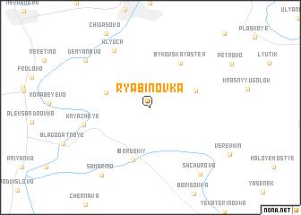 map of Ryabinovka