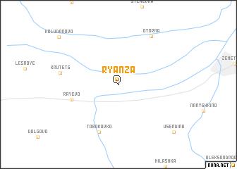 map of Ryanza