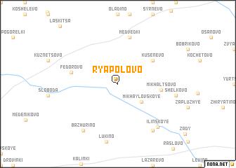 map of Ryapolovo