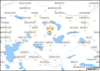 map of Rya