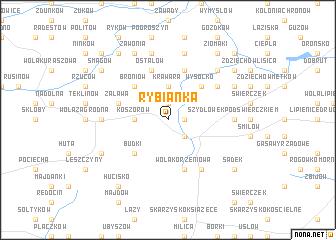 map of Rybianka