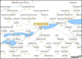 map of Rybienko