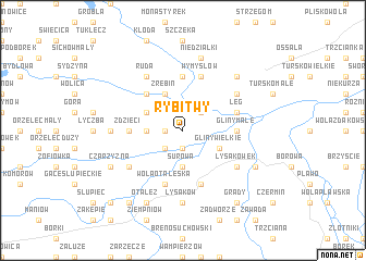 map of Rybitwy