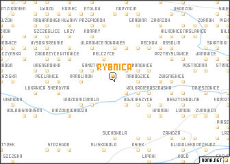 map of Rybnica
