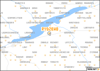 map of Rydzewo