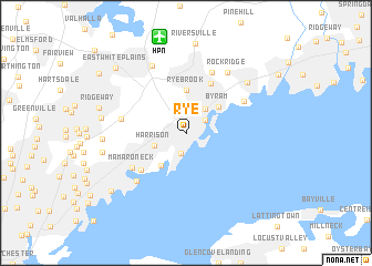 map of Rye