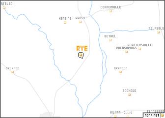 map of Rye