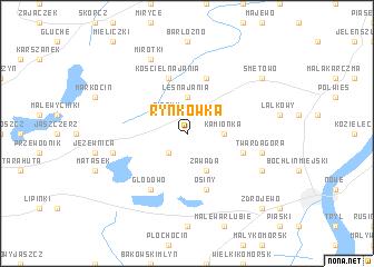 map of Rynkówka