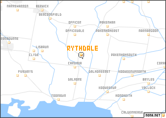 map of Rythdale