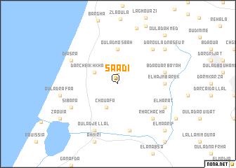 map of Saâdi