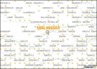 map of Saalhausen