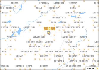 map of Saass