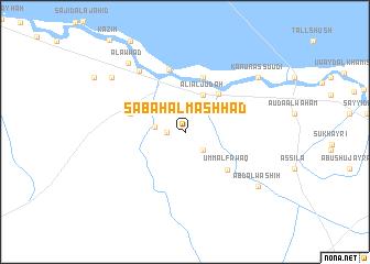 map of Şabāḩ Āl Mashhad