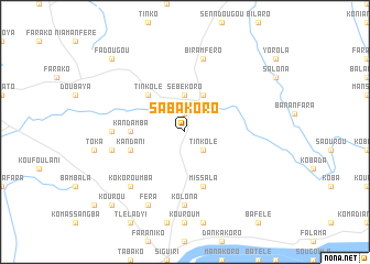 map of Sabakoro
