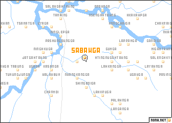 map of Sabaw Ga