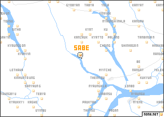 map of Sabe