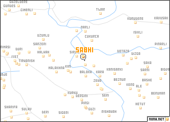 map of Sabhī