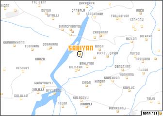 map of Şǝbiyan