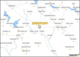 Sabon Kafi Niger map nonanet