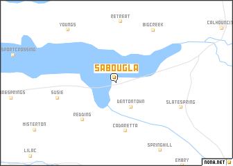 Sabougla United States USA map nonanet
