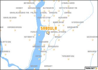 Saboula Niger map nonanet