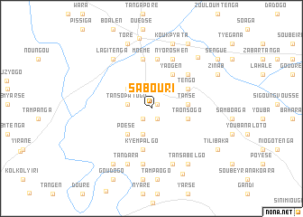 map of Sabouri
