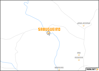 map of Sabugueiro
