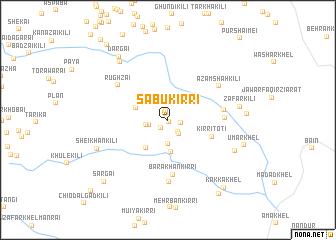 map of Sābu Kirri