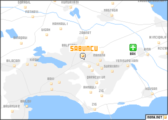 map of Sabunçu