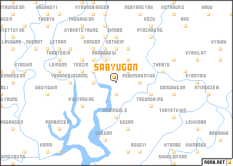 map of Sabyugôn