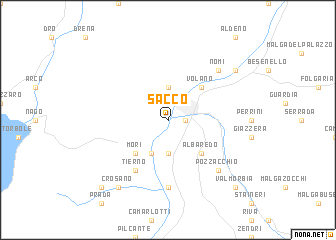 map of Sacco