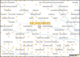 map of Sachsenberg