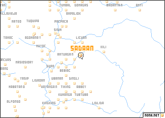 map of Sadaan