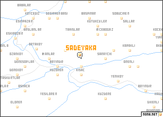 map of Sadeyaka