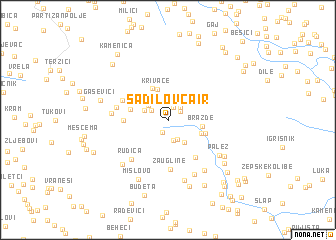 map of Sadilov Čair