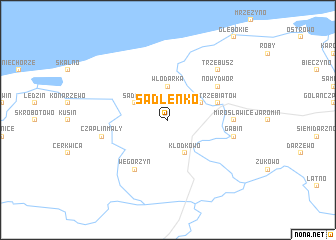 map of Sadlenko