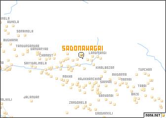 map of Sado Nawagai