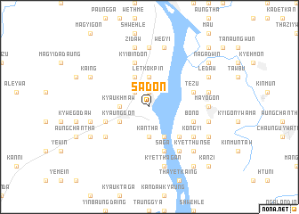 map of Sadon