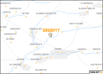 map of Sadovyy