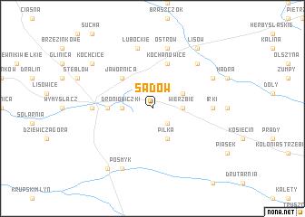 map of Sadów